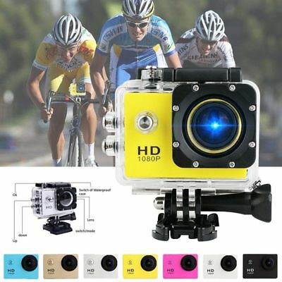 12MP VIDEOCAMERA TELECAMERA FULL HD 1080P Sport DV Camera ACTION CAM SUBAQUEA