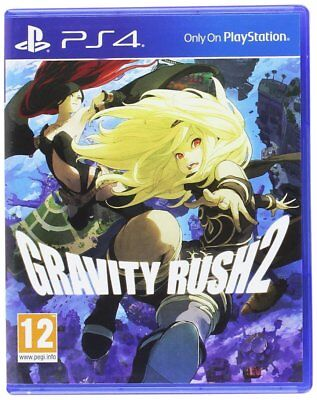 Gravity Rush 2 For PS4 (New & Sealed)