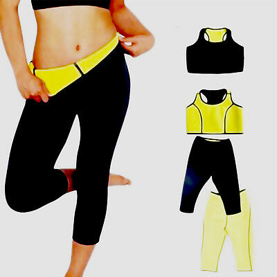 Women Slimming Vest Body Shaper pant Weight Loss Belt Neoprene Sweat Fat Burner