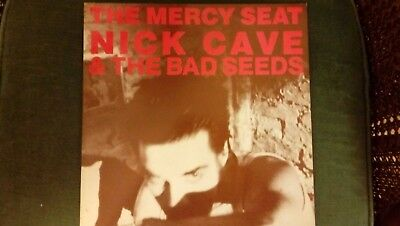 """Nick Cave & The Bad Seeds The Mercy Seat 12"""" Single Vinyl LP Record"""