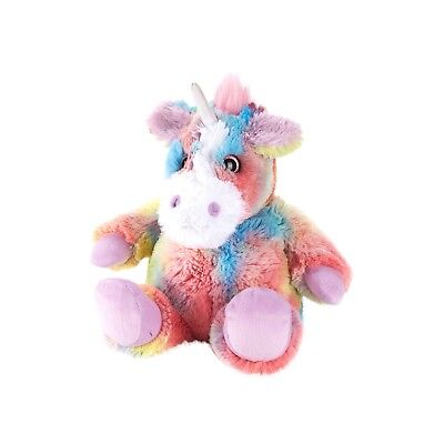Warmies Microwaveable Lavender Scented Plush Toy  - Rainbow Unicorn