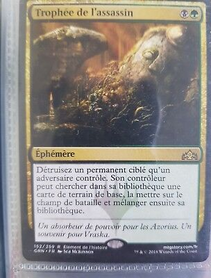MTG Magic GRN - Assassin's Trophy/Trophée de l'assassin, French/VF ravnica SUIVI