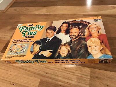 The Family Ties Game - Vintage Boardgame