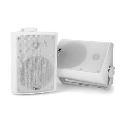 WiFi Lautsprecher Set 200 W Multi-Room Bistro Boxen Bluetooth Speaker IP55 weiß