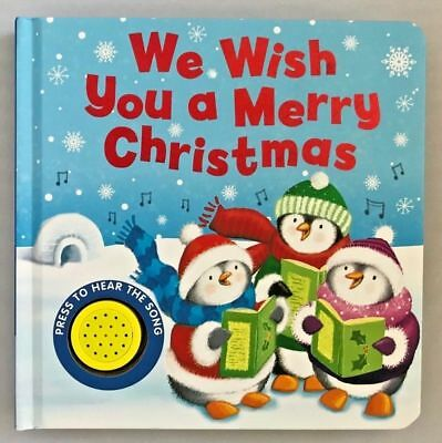 We Wish You A Merry Christmas Sound Book Kids Age 6 Months+ New Christmas Gift