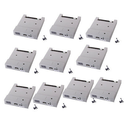 10x 3.5'' USB Floppy Drive 720KB with Screw Jumper Caps for Electronic Organ