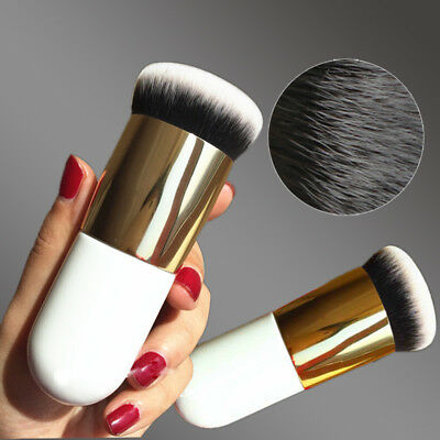 New Chubby Pier Foundation Brush Flat Cream Makeup Brushes Professional Cosmetic
