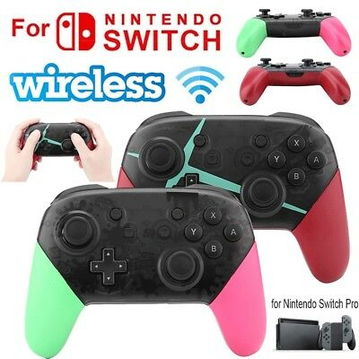 Wireless Bluetooth Gamepad Game Controller JoyCon Type-C for Nintendo Switch Pro