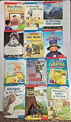 LOT OF 25 Harcourt  Leveled Guided Readers books.  LEVEL 5. Homeschool Teacher