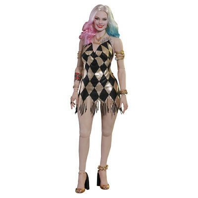 "DC COMICS Suicide Squad Harley Quinn Dancer Dress 1/6 Action Figure 12"" Hot Toys"