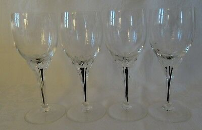 """BELFOR CRYSTAL Bohemia EXQUISITE Lot 4 Sherry Cocktail  Glass 5 1/2"""" high"""