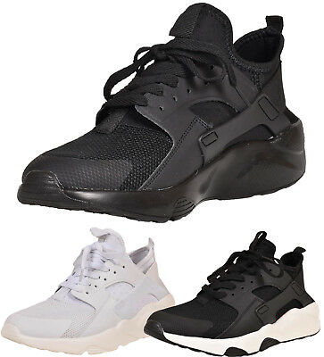 Mens Lace up Trainers Lightweight Sneakers Running Gym Shoes