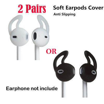 2 Pairs Apple Silicone Cover Anti-Lost Earhooks Cover For iPhone 6 Headsets