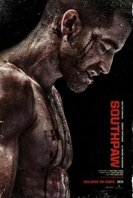 SOUTHPAW great original D/S 27x40 movie poster (s01)