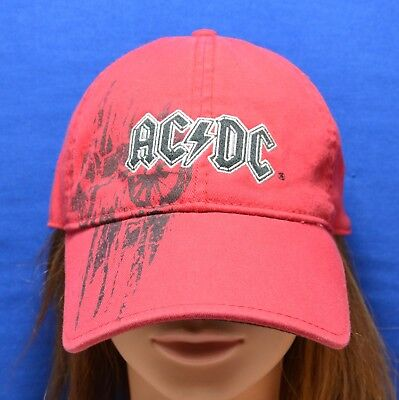 """AC/DC """"For Those About To Rock"""" Baseball Cap - Officially Licensed - Virtis"""