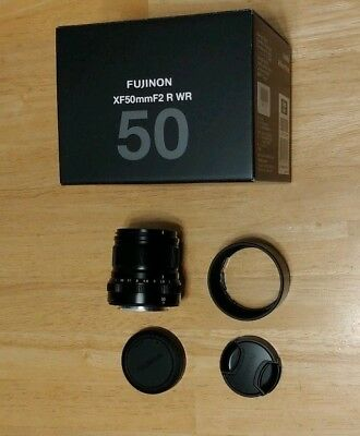 Fujifilm Fujinon XF 50mm F2 WR Lens Immaculate Condition