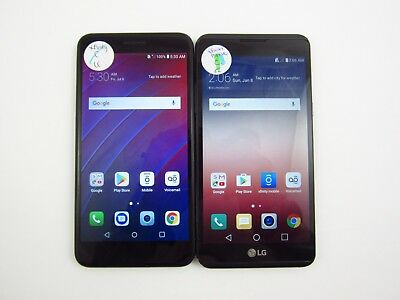 Lot of 2 Assorted LG Xfintiy Check IMEI Fair Condition 3-1326