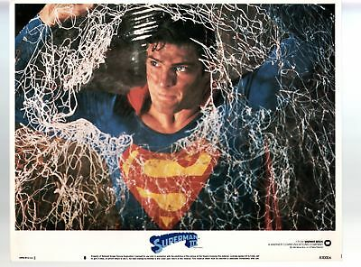 Superman III- Christopher Reeve-11x14-Color-Lobby Card-Action