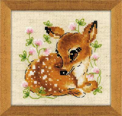 "Counted Cross Stitch Kit RIOLIS 1777 - ""Little Deer"""