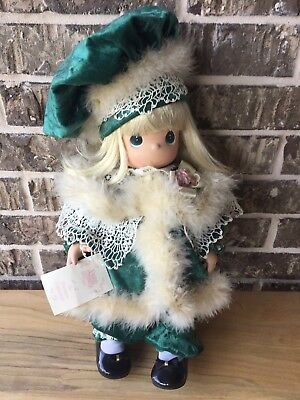Precious Moments Kaitlyn & Kirby Winter In The City Porcelain Doll New RARE