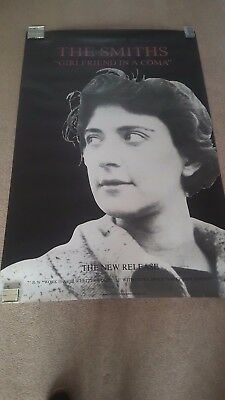 "The Smiths ""Girlfriend In A Coma"" 60"" X 40"" Original Subway Promo Poster"