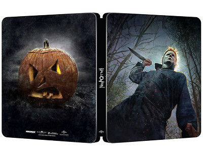 HALLOWEEN (2018) EDIZIONE STEELBOOK (BLU-RAY) HORROR Jamie Lee Curtis,Judy Greer