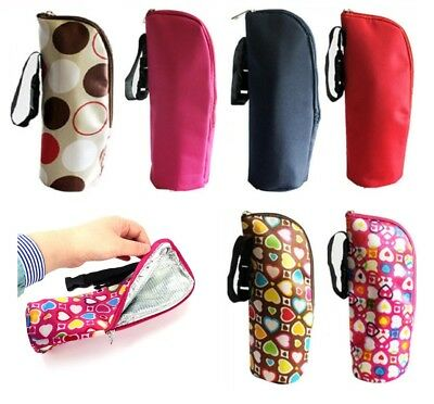 Milk Bottle Insulation Thermal Bag Cup Warmer Tote Baby Travel Cover Pouch