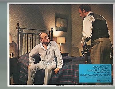 I Never Sang For My Father-Melvyn Douglas-Gene Hackman-11x14-Lobby Card