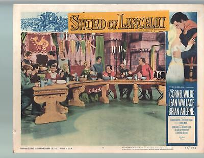Sword Of Lancelot-Jean Wallace-Brian Aherne-11x14-Color-Lobby Card