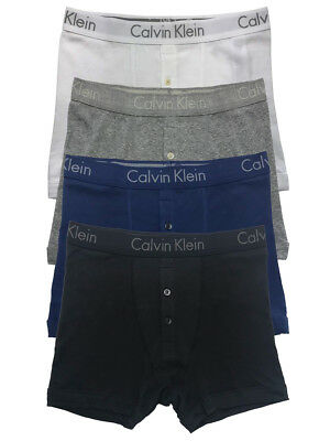 Calvin Klein Mens Body Button Fly Boxer Briefs Underwear New