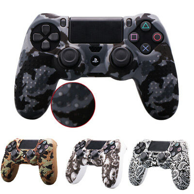 New Camouflage Silicone Case Skin Grip Cover For PlayStation 4 PS4 Controller US