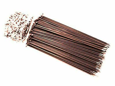 Hi-Tech Coloured Spokes (144pcs) / 187mm / Brown