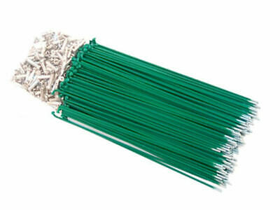 Hi-Tech Coloured Spokes (144pcs) / 187mm / Green