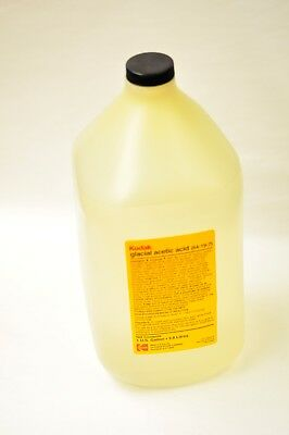 Kodak Glacial Acetic Acid Cat. 146 2845 1 gallon. New old stock