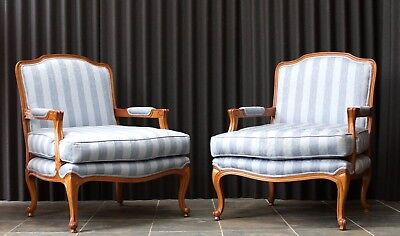 Pair of French Style Armchairs Antique Vintage - We Can Deliver