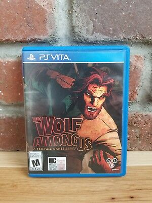 The Wolf Among Us (Sony PlayStation Vita, 2014) TESTED!