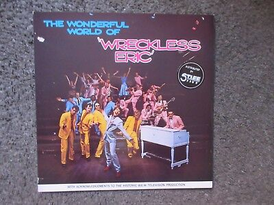 "Wreckless Eric ""the Wonderful World Of Wreckless"" Eric"" 1978 Ex/nm- Green Vinyl"