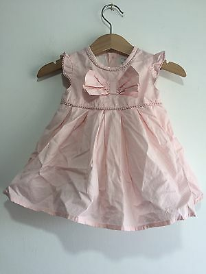 Perfect Condition Baby Girl 0-3 Months Pink Party Wedding Dress Mamas & Papas