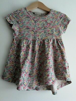 BNWOT Baby Girl 12-18 Months Floral Tunic Top From Next