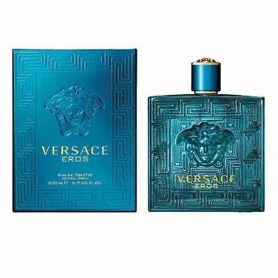 Versace Eros By Gianni Versace 6.7 / 6.8 Oz EDT Spray NIB Sealed Cologne For Men