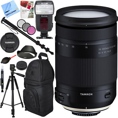 Tamron 18-400mm f/3.5-6.3 Di II VC HLD Zoom Lens for Nikon Mount Accessories Kit