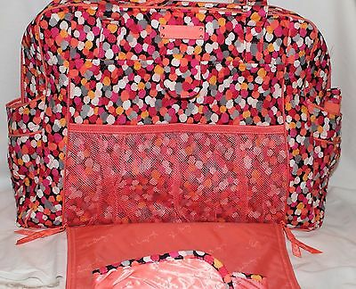 Vera Bradley Diaper Bags X Large Stroll Along In Two Patterns Nwt