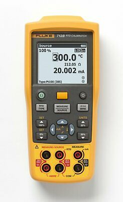 Fluke 712B RTD Temperature Calibrator Type-Hand-Held