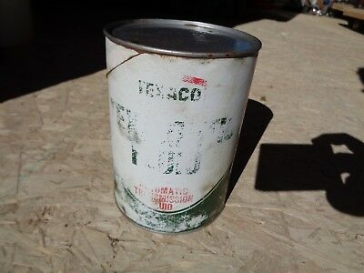 Vintage Texamatic Texaco ATF Empty Can from the 70's #4