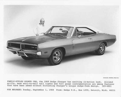 1969 Dodge Charger Press Photo 0044