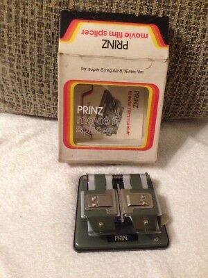 Prinz Movie Film Splicer | With Box