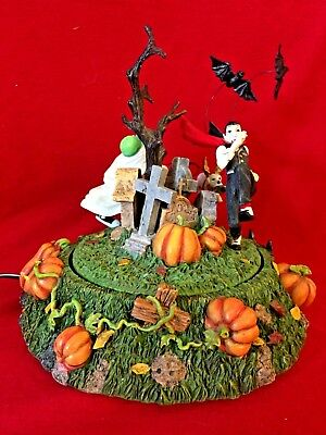 Scaredy Bat Dept 56 Snow Village Halloween 53132 accessory animated haunted A