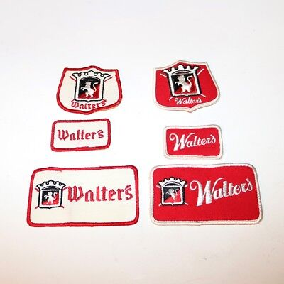 Walter's Beer Patch - Lot of 6