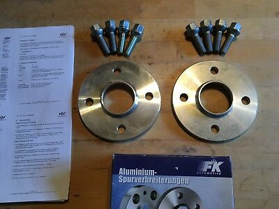 FK 10/20mm 4x100 Spurplatten Spurverbreiterung VW Golf Scirocco, BMW E30