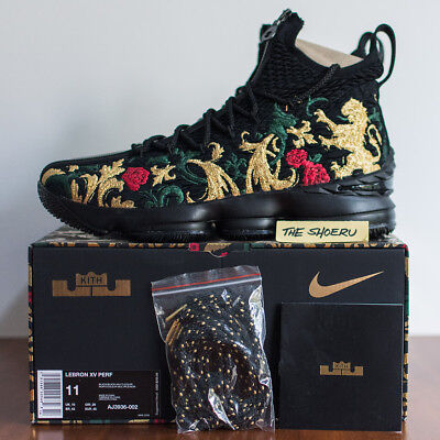 wholesale dealer 0a566 1ac93 KITH NIKE LEBRON XV Performance Closing Ceremony Size 11 Ronnie Fieg 15 NEW!
